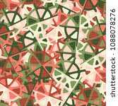 abstract pattern in camouflage...   Shutterstock .eps vector #1088078276