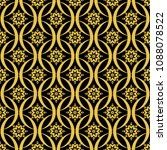abstract seamless pattern of... | Shutterstock .eps vector #1088078522