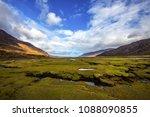 low tide at little loch broom ... | Shutterstock . vector #1088090855
