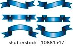 six vector banner designs | Shutterstock .eps vector #10881547
