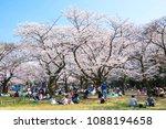 tokyo  japan   april 2  2018 ... | Shutterstock . vector #1088194658