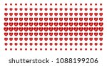 cardiology icon halftone... | Shutterstock .eps vector #1088199206