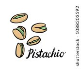 vector drawing nuts of... | Shutterstock .eps vector #1088203592