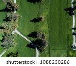 aerial photograph of golf... | Shutterstock . vector #1088230286