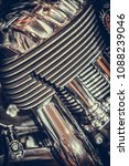 close up shot of v twin... | Shutterstock . vector #1088239046