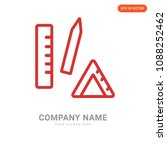 office material company logo... | Shutterstock .eps vector #1088252462