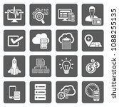 search engine vector icon set   Shutterstock .eps vector #1088255135