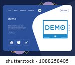 quality one page demo website...