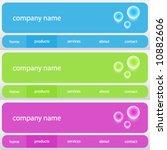 vector website user interface