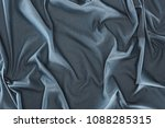 close up view of crumpled dark... | Shutterstock . vector #1088285315