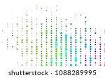 light multicolor  rainbow... | Shutterstock .eps vector #1088289995