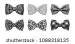 the monochrome set of stylish... | Shutterstock .eps vector #1088318135