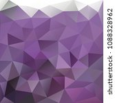 iris purple and white polygonal ...   Shutterstock .eps vector #1088328962