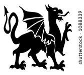 dragon | Shutterstock . vector #1088339