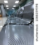 waiting room with empty chairs | Shutterstock . vector #1088359598