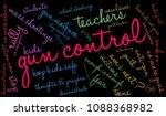 gun control word cloud on a... | Shutterstock .eps vector #1088368982
