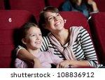 mother with daughter enjoying... | Shutterstock . vector #108836912