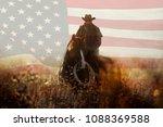 July Fourth Cowboy Portrait