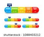 body mass index  bmi... | Shutterstock .eps vector #1088403212
