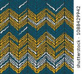 abstract ikat and boho style... | Shutterstock .eps vector #1088429942