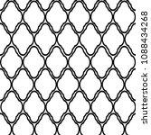 geometric retro seamless... | Shutterstock .eps vector #1088434268