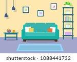 interior. furniture design....   Shutterstock .eps vector #1088441732