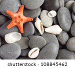 Orange Five Pointed Starfish O...