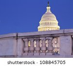 Capitol Dome Behind The Fence ...