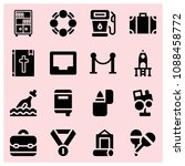filled other icon set such as... | Shutterstock .eps vector #1088458772