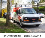 may 11 2018  uhaul moving truck ... | Shutterstock . vector #1088466245