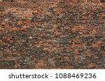 baroque brick fortification of... | Shutterstock . vector #1088469236
