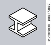 vector editable stroke line h... | Shutterstock .eps vector #1088473892