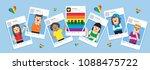 illustration vector flat of... | Shutterstock .eps vector #1088475722