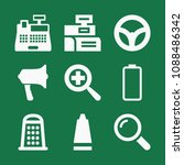 filled set of 9 tool icons such ...   Shutterstock .eps vector #1088486342