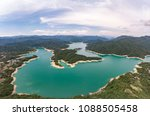 thousand island lake from... | Shutterstock . vector #1088505458