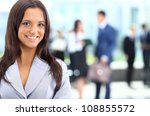 young businesswoman and her... | Shutterstock . vector #108855572