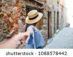 follow me   couple in love... | Shutterstock . vector #1088578442