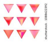 vector gradient reverse... | Shutterstock .eps vector #1088622392