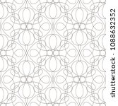 seamless pattern with wavy... | Shutterstock .eps vector #1088632352