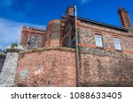 renovation work on the south... | Shutterstock . vector #1088633405