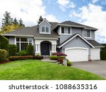 clean home with healthy front... | Shutterstock . vector #1088635316