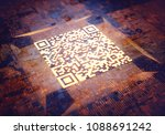 3d illustration  digital data... | Shutterstock . vector #1088691242