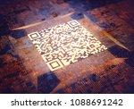 3d illustration  digital data... | Shutterstock . vector #1088691242