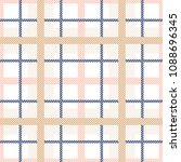 tartan plaid seamless pattern.... | Shutterstock .eps vector #1088696345