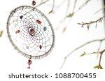 dream catcher on white... | Shutterstock . vector #1088700455