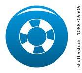 lifebuoy icon. simple... | Shutterstock .eps vector #1088706506