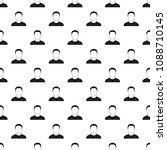 man avatar pattern vector...