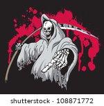 grim reaper | Shutterstock .eps vector #108871772
