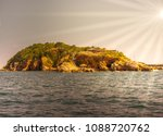island in the sun concept ... | Shutterstock . vector #1088720762