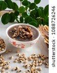 rice bean cuttlefish porridge   ... | Shutterstock . vector #1088726246